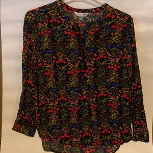Old navy flowered tunic